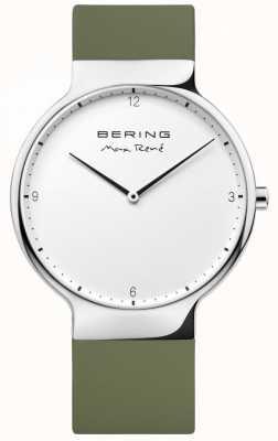 Bering Mens max rené austauschbares grünes Gummiband 15540-800