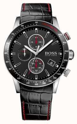 Hugo Boss Herren Rafale schwarz Chronograph 1513390