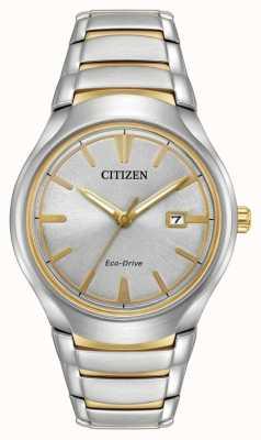 Citizen Mens eco drive zwei Ton-Paradigma AW1554-59H