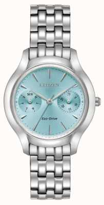Citizen Womans Eco-Drive Silhouette krämer blau FD4010-57L
