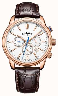 Rotary Herren Monaco Sport Chronograph Leder GS05084/06