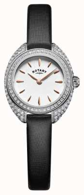 Rotary Womans petite Stein Set Mesh Silber LS05087/02
