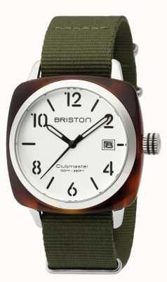Briston Mens clubmaster classic acetate hms Schildkröte Schale weiß 16240.SA.T.2.NGA
