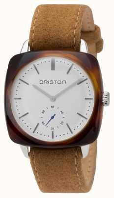 Briston Herren Clubmaster Vintage Acetat kleine zweite Schildpatt 16440.SA.TV.2.LFCA