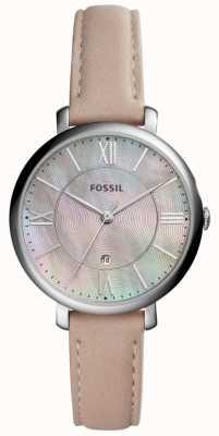 Fossil Womans jacqueline Mopp Wahl rosa Lederband ES4151
