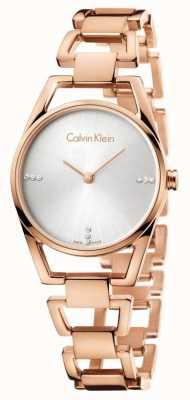Calvin Klein Womans zierliche Rose vergoldet K7L2364T
