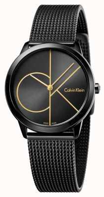 Calvin Klein Womans minimales schwarzes Mesh K3M224X1