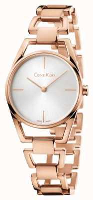 Calvin Klein Womans zierliche Rose vergoldet K7L23646