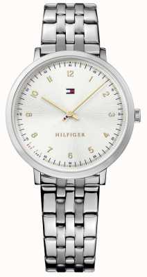 Tommy Hilfiger Womans Pippa Silber Stahl 1781762