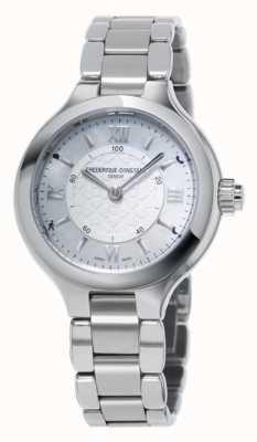 Frederique Constant Womans Freude uhrmacherischen Smartwatch Silber FC-281WH3ER6B