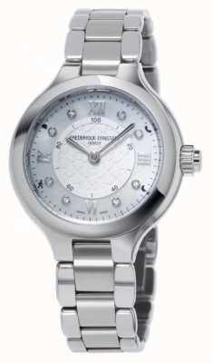 Frederique Constant Womans Freude uhrmacherischen Smartwatch Silber FC-281WHD3ER6B