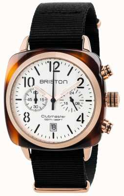 Briston Herren Clubmaster Classic Chronograph 17140.PRA.T.2.NB
