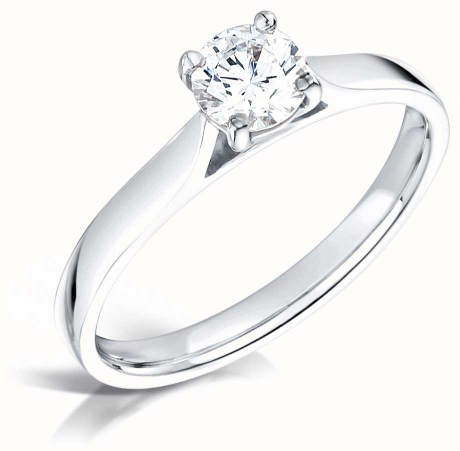 Certified Diamond Engagement Rings FCD28350