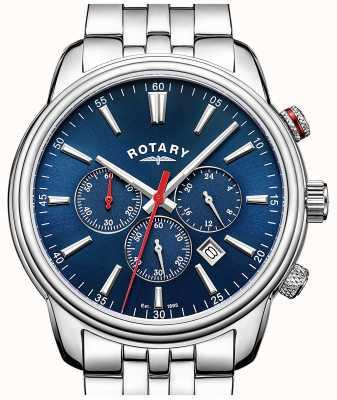 Rotary Herren Monaco Chronograph blau GB05083/05