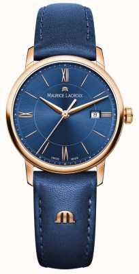Maurice Lacroix Womans eliros blaues Leder EL1094-PVP01-411-1