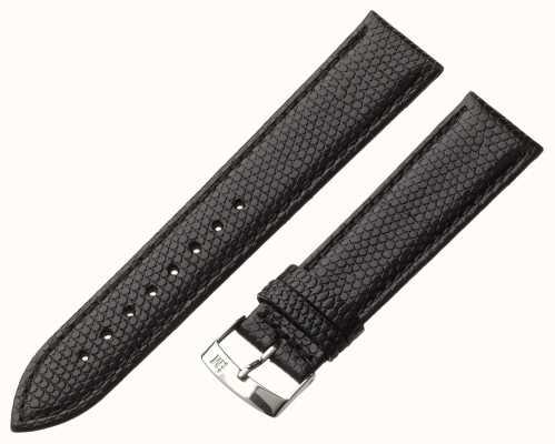 Morellato Strap nur - ibiza Eidechsen Kalb schwarz 18mm A01X3266773019CR18