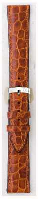 Morellato Strap nur - liverpool croc Leder hellbraun 20mm A01U0751376037CR20