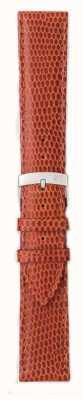 Morellato Strap nur - Ibiza Eidechse Kalb braun / rot 16mm A01X3266773041CR16