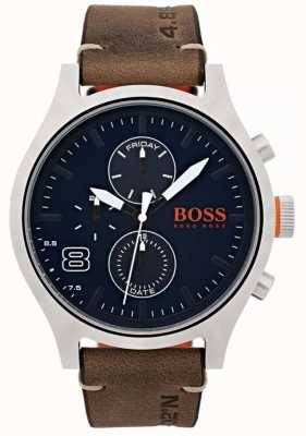 Hugo Boss Orange Herren Amsterdam braunes Leder 1550021