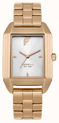 Fiorelli Womans Roségold Armband Satin Zifferblatt FO034RGM