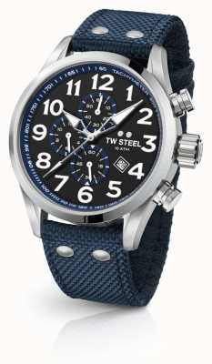 TW Steel Herren volante blau 45mm Chronograph VS33