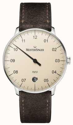 MeisterSinger Mens Form und Stil neo automatischen Elfenbein NE903N