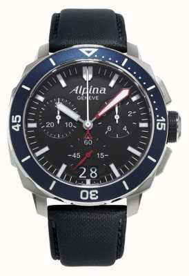 Alpina Mens Seastrong Taucher 300 großes Datum AL-372LBN4V6