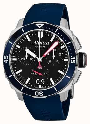 Alpina Herren Seastrong Diver 300 Big Date AL-372LBN4V6