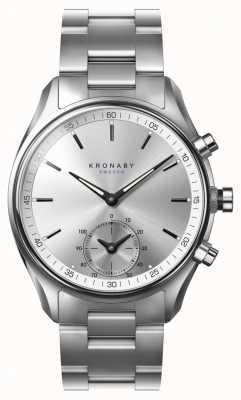 Kronaby 43mm secel bluetooth Edelstahlarmband smartwatch A1000-0715