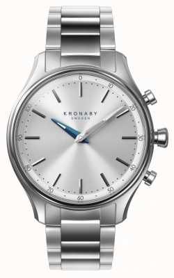 Kronaby 38mm sekel bluetooth edelstahl armband a1000-0556 S0556/1