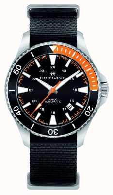 Hamilton Herren Khaki Navy Scuba automatische schwarz H82305931