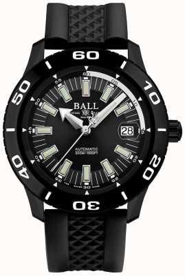 Ball Watch Company Fireman necc pvd case schwarzer gummiband DM3090A-P4J-BK
