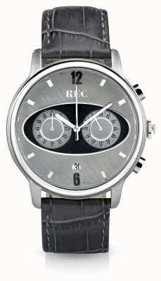 REC Mark 1 m2 Chronograph graues Lederarmband M2