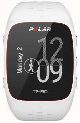 Polar M430 weiße Gummi Sportuhr 90064407