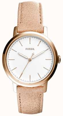 Fossil Womans neeley beige Lederband ES4185