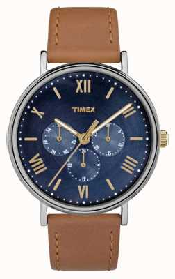 Timex Herren Southview Multifunktions-Chronograph braun TW2R29100