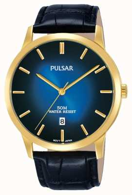 Pulsar Herren Kleid Armbanduhr PS9532X1