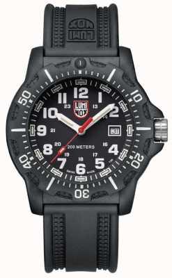 Luminox Black ops 8880 Serie schwarzes Zifferblatt pu schwarzes Armband XL.8881