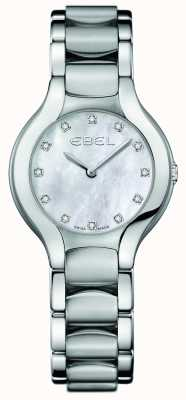 EBEL Damen Beluga Diamant Set Edelstahl 1216038
