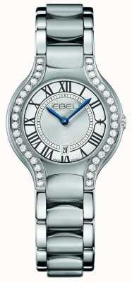 EBEL Damen Beluga Diamant Set aus Edelstahl 1216069