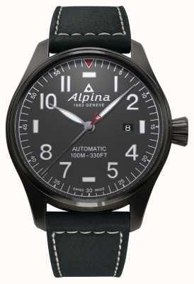 Alpina Automatisches schwarzes Startband für den Starterpilot AL-525G4TS6