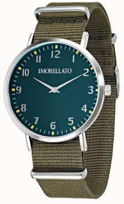 Morellato Herren Vela grüne Zifferblatt / Armbanduhr R0151134004