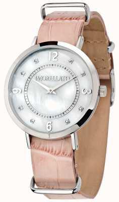Morellato Damen Versilia rosa Leder Uhr R0151133508