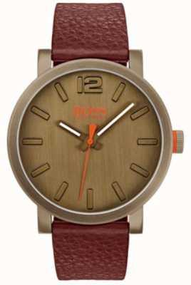 Hugo Boss Orange Mens bilbao Uhr in braun 1550036