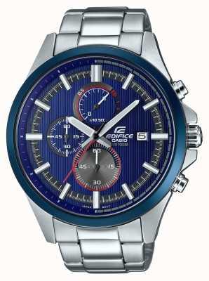 Casio Das Gebäude der Männer, das blaue Chronographuhr läuft EFV-520RR-2AVUEF