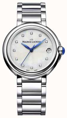 Maurice Lacroix Damen Fiaba 32mm Diamant Set Armbanduhr FA1004-SS002-170-1