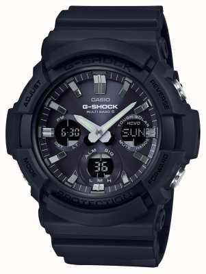 Casio Waveceptor Alarm Chronograph grau / schwarz GAW-100B-1AER