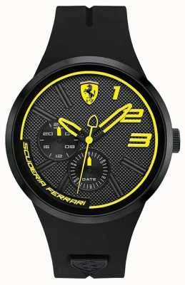 Scuderia Ferrari Fxx gelb und schwarzes Zifferblatt 0830471
