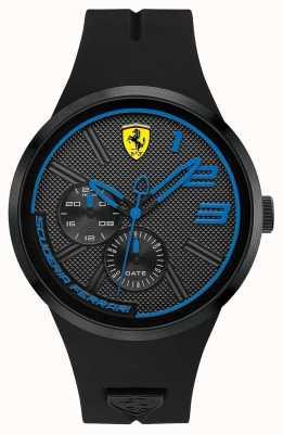 Scuderia Ferrari Herren schwarzes Silikon 0830395