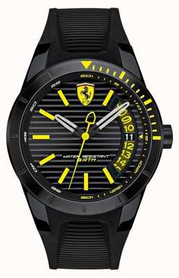 Scuderia Ferrari Herren rote Silikon-Armbanduhr 0830426